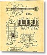 Seth Lover Gibson Humbucker Pickup Patent Art 1959 Metal Print