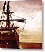 Setting Sail Metal Print