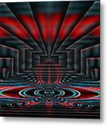 Setting The Stage Metal Print