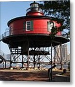Seven Foot Knoll Lighthouse - Baltimore Harbor Metal Print