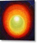 Seven Inside Seven Outside - The Shining Egg Tertiary Inside  Metal Print