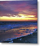 Seven Minutes On The Beach Metal Print