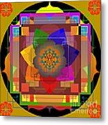 Seven Rays Of Healing 2013 Metal Print