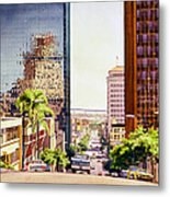 Seventh Avenue In San Diego Metal Print