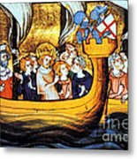 Seventh Crusade 13th Century Metal Print