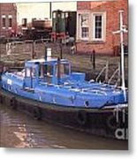 Severn Progress Metal Print
