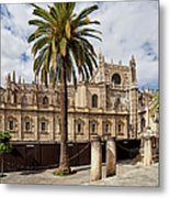 Seville Cathedral In Spain Metal Print