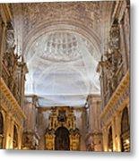 Seville Cathedral Interior Metal Print