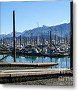Seward Alaska Bay Metal Print