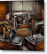 Sewing - A Chorus Of Three Metal Print
