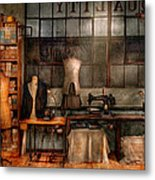 Sewing - Industrial - Quality Linens  Metal Print