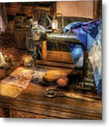 Sewing Machine  - Sewing Machine IIi Metal Print