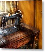 Sewing Machine  - The Sewing Machine  Metal Print
