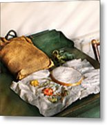 Sewing - Needle Point  Metal Print