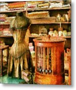 Sewing - Supplies For The Seamstress Metal Print by Mike Savad