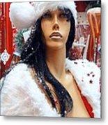 Sexy Santa Metal Print
