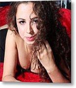 Sexy Woman Metal Print