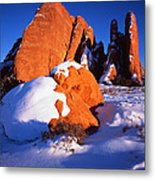Sh-arch Fins Metal Print by Ray Mathis