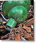 Shade And Chain Metal Print
