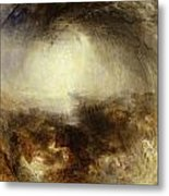 Shade And Darkness - The Evening Of The Deluge Metal Print