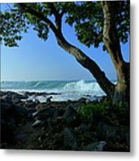 Shade On The Shore Metal Print