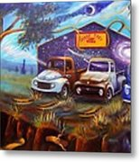 Shade Tree Hot Rods Metal Print