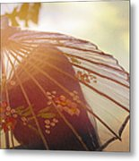 Shaded From The Sun Metal Print