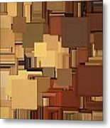Shades Of Brown Metal Print by Lourry Legarde