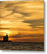 Shades Of Dawn Metal Print