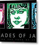 Shades Of Jade Poster Metal Print