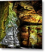 Shades Of Light And Color Metal Print