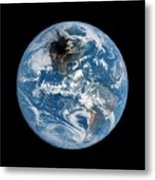 Shadow Cast By 2017 Total Solar Eclipse Metal Print