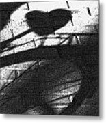 Shadow Heart Advanced Pencil Metal Print