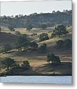 Shadow Hills Metal Print