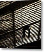 Shadow Patterns Metal Print