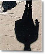 Shadow People In London # 2 Metal Print
