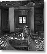 Shadowed Rooms Metal Print