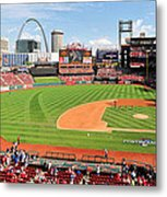 Shadows At Busch Metal Print