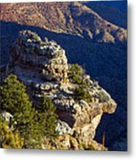 Shadows In The Canyon Metal Print