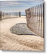 Shadows In The Sand II Metal Print