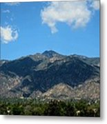 Shadows Of San Gabriel Metal Print