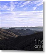 Shadows Of The Mountains Metal Print