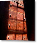 Shadows On Chest Metal Print