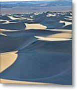 Shadows Over The Dunes Metal Print