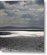 Shadows Over The Sea Metal Print