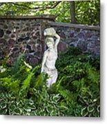 Shady Perennial Garden Metal Print