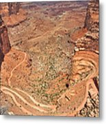 Shafer Trail Metal Print