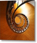 Shaft Staircase Metal Print