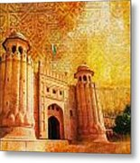 Shahi Qilla Or Royal Fort Metal Print