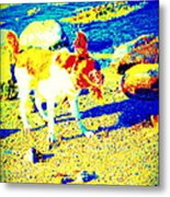 You Can Shake It Baby, So Shake Your Head And Laugh Out Loud  Metal Print